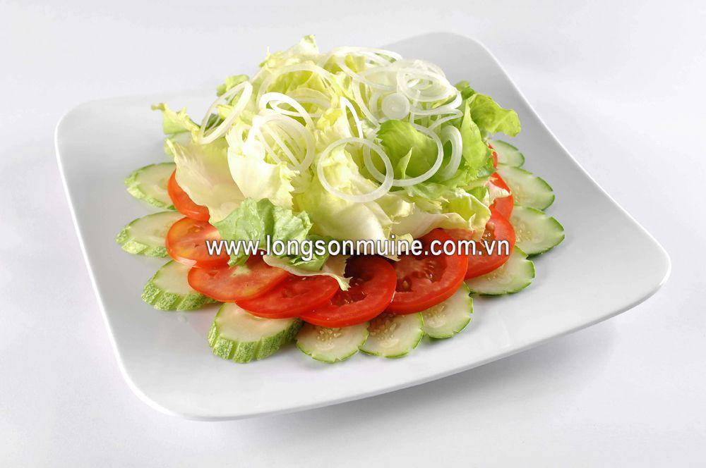 Gỏi salad dầu dấm