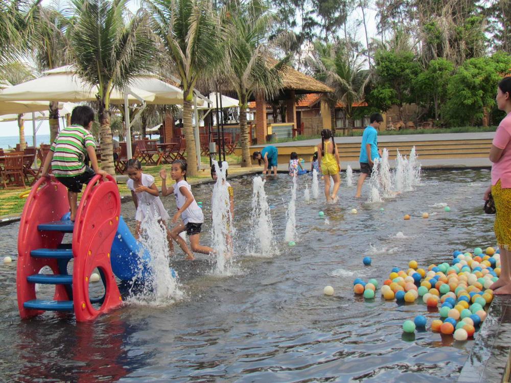 Sân chơi nhạc nước của trẻ em